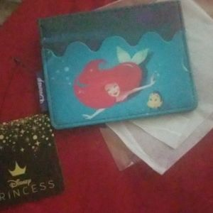 Disney the little mermaid cardholder